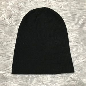 Rue21 Black Knit Beanie Knit Winter Hat